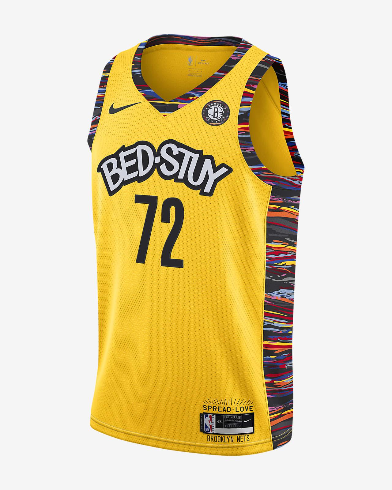 布鲁克林篮网队 Biggie Nike NBA Swingman Jersey 男子球衣