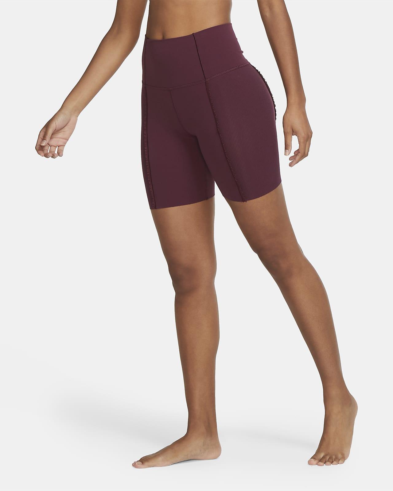 Nike Yoga Luxe Women's Infinalon Ruffled Shorts