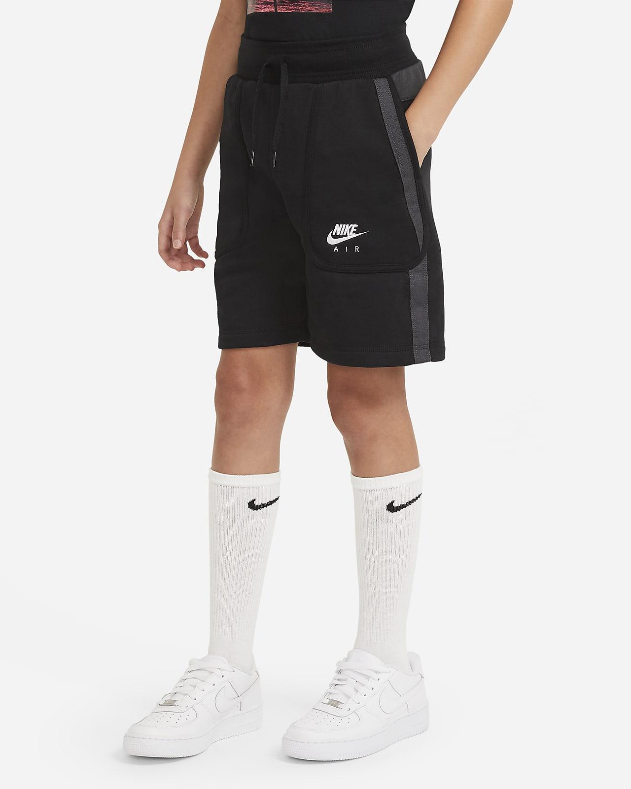 Calções em tecido moletão Nike Air Júnior (Rapaz)
