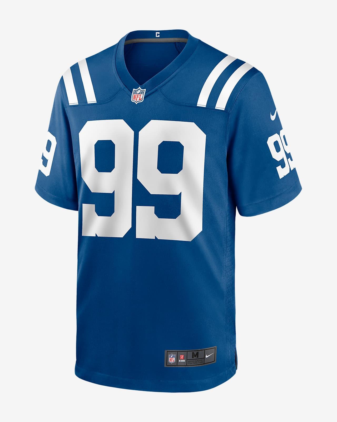 NFL Indianapolis Colts (DeForest Buckner) Men's Game Football Jersey