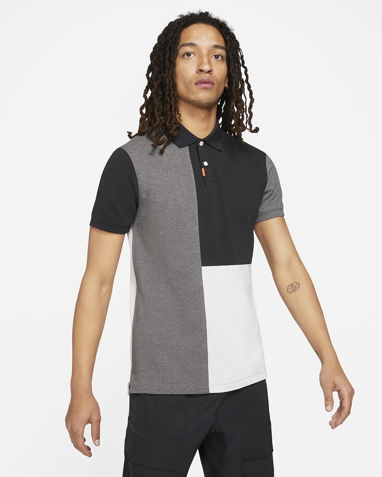 The Nike Polo Herren-Poloshirt in schmaler Passform mit Blockfarben
