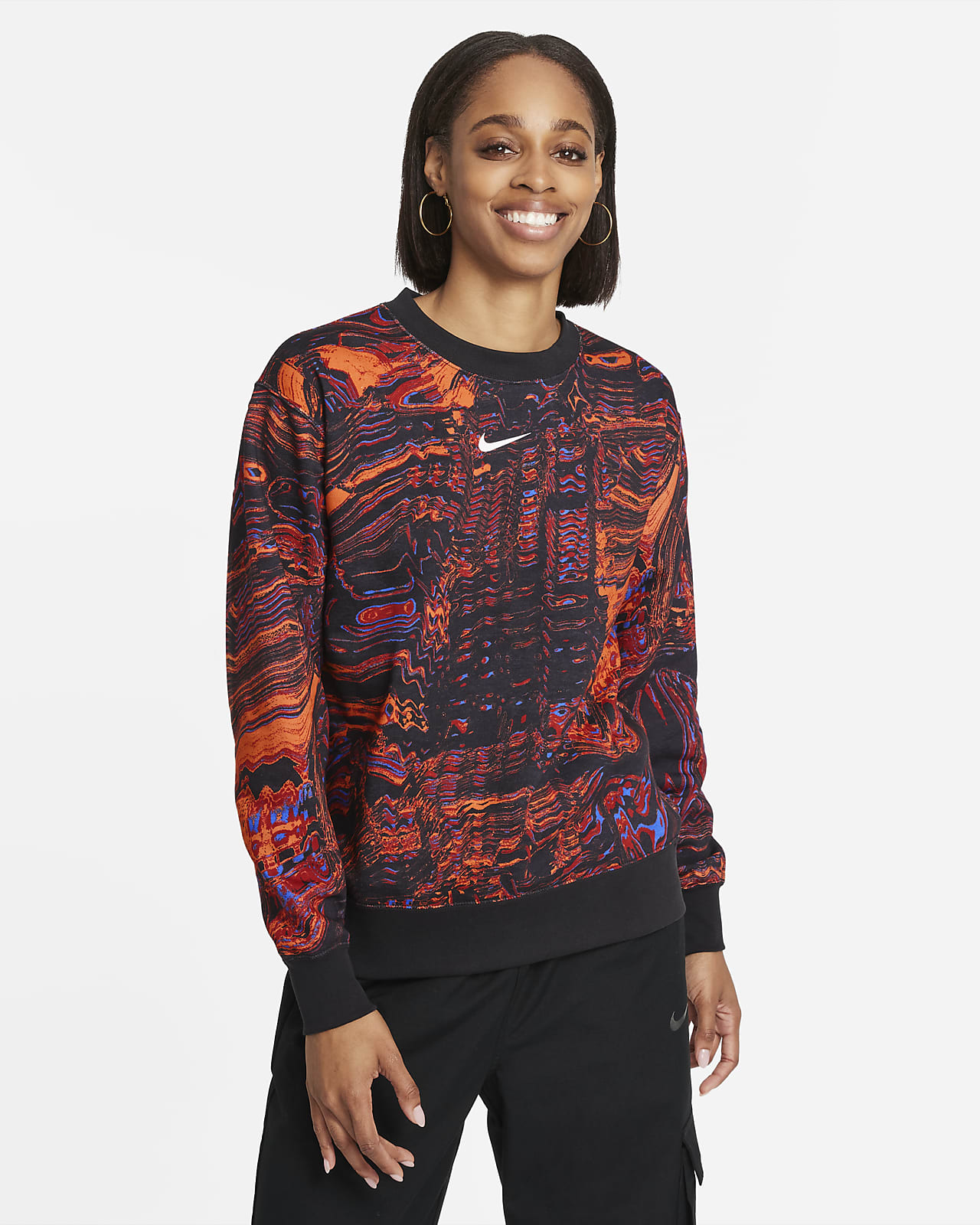 Haut de danse en tissu Fleece Nike Sportswear pour Femme