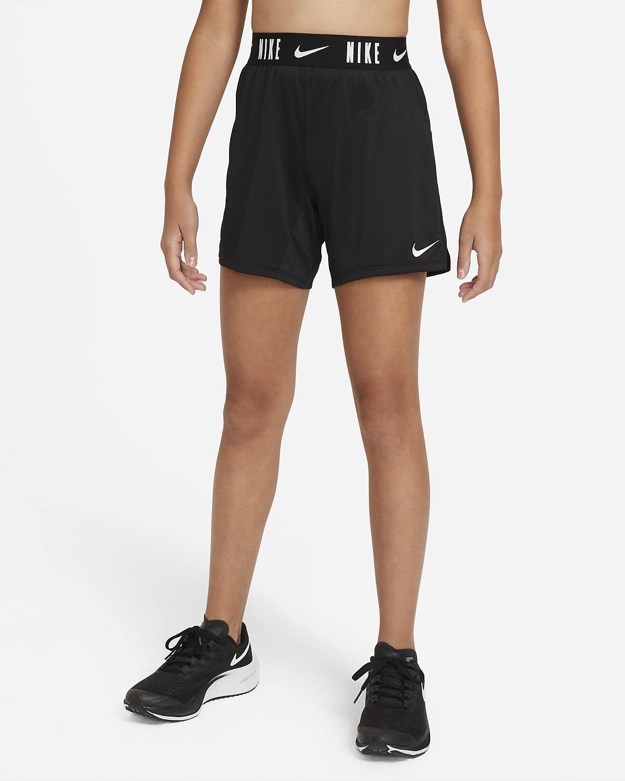 Shorts de entrenamiento de 15 cm para niña talla grande Nike Dri-FIT Trophy