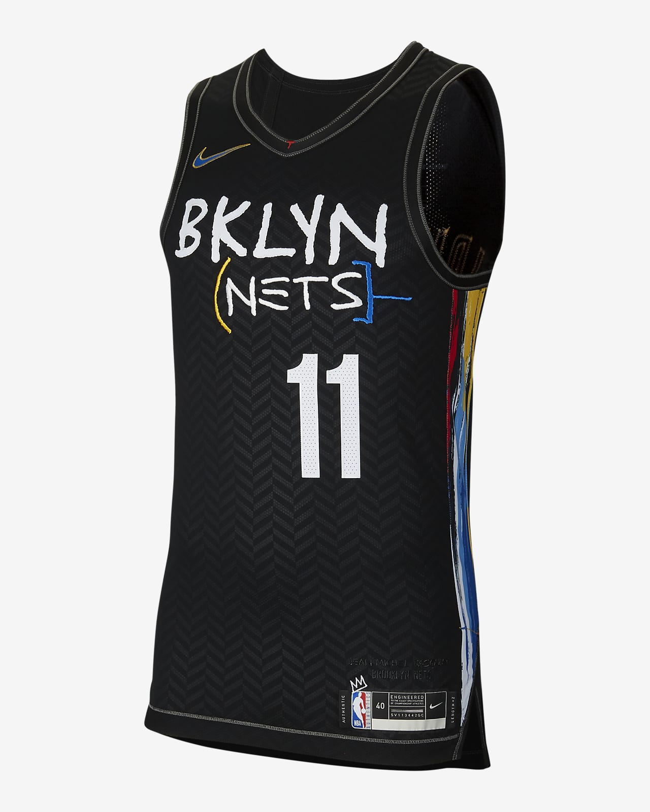 Maillot Nike NBA Authentic Brooklyn Nets City Edition