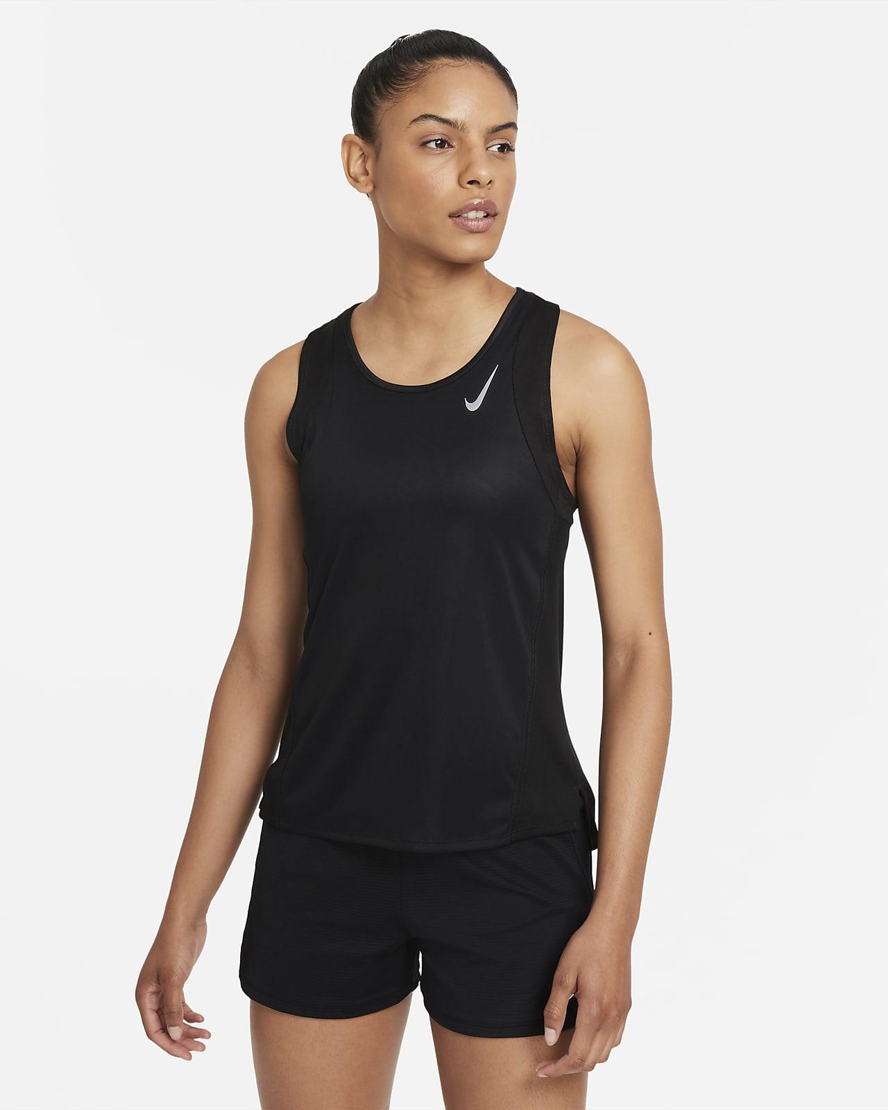 Γυναικεία φανέλα για τρέξιμο Nike Dri-FIT Race