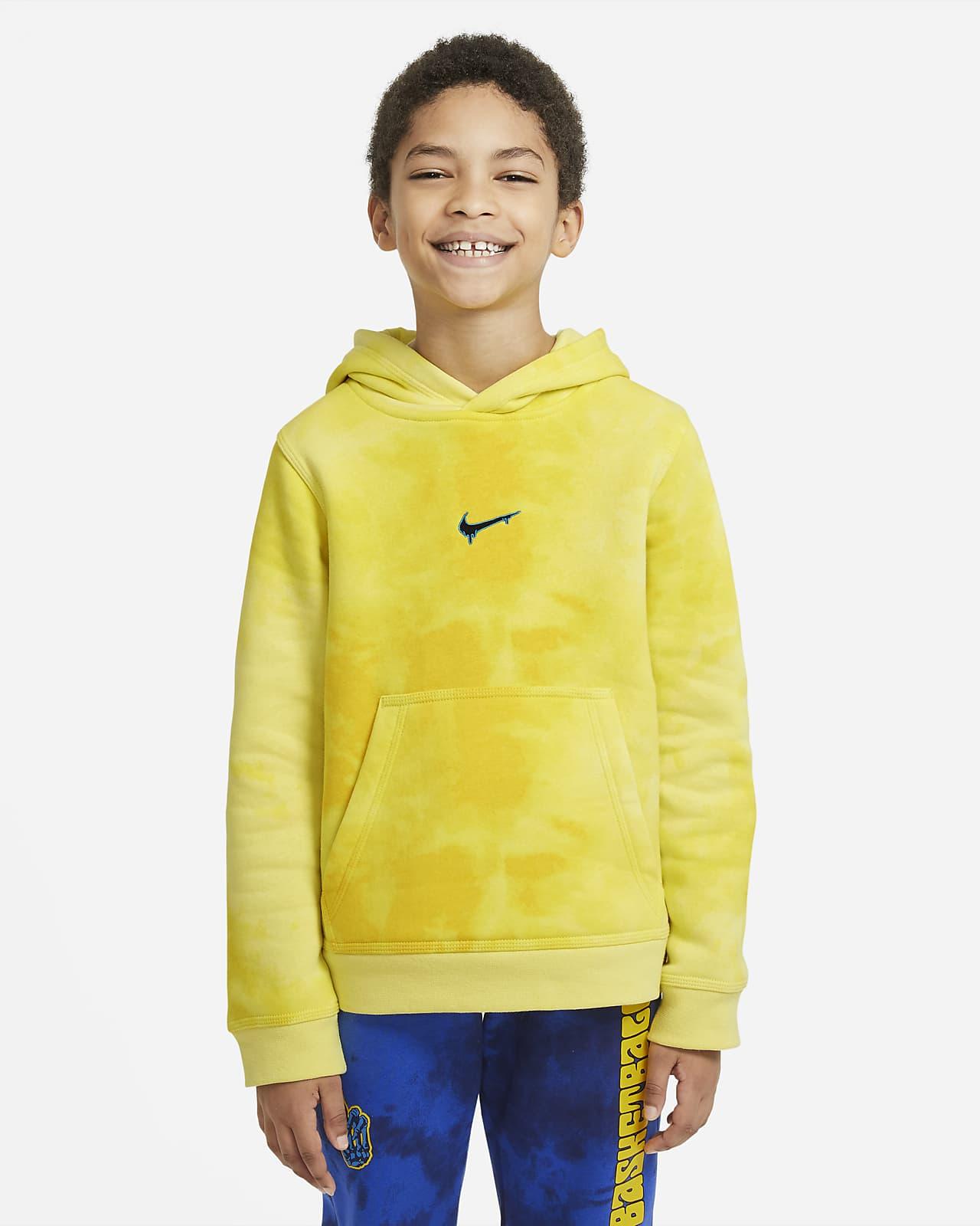 Nike Club Fleece Big Kids' (Boys') Pullover Hoodie