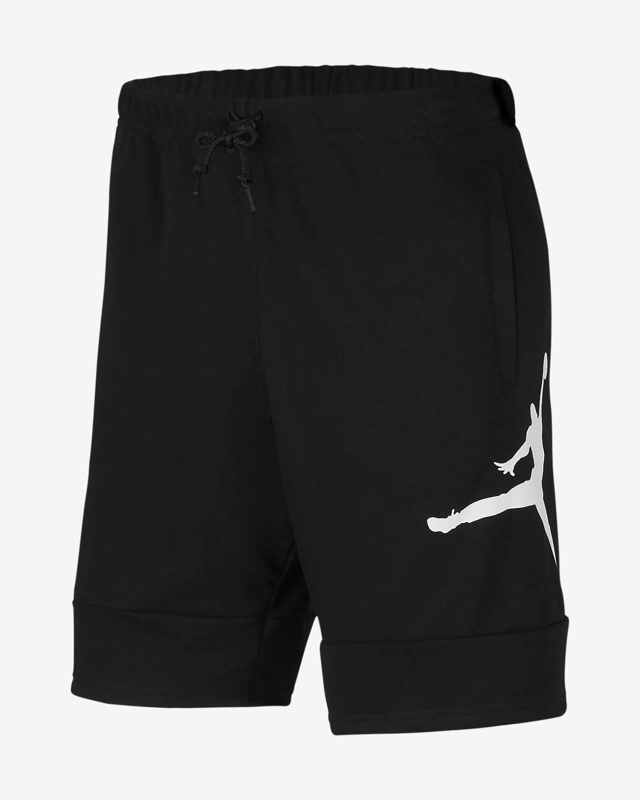 กางเกงขาสั้นผ้าฟลีซผู้ชาย Jordan Jumpman Air