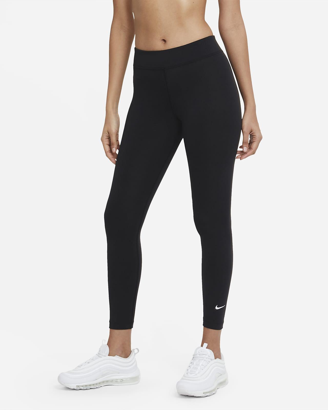 Nike Sportswear Essential Leggings de talle medio de 7/8 - Mujer