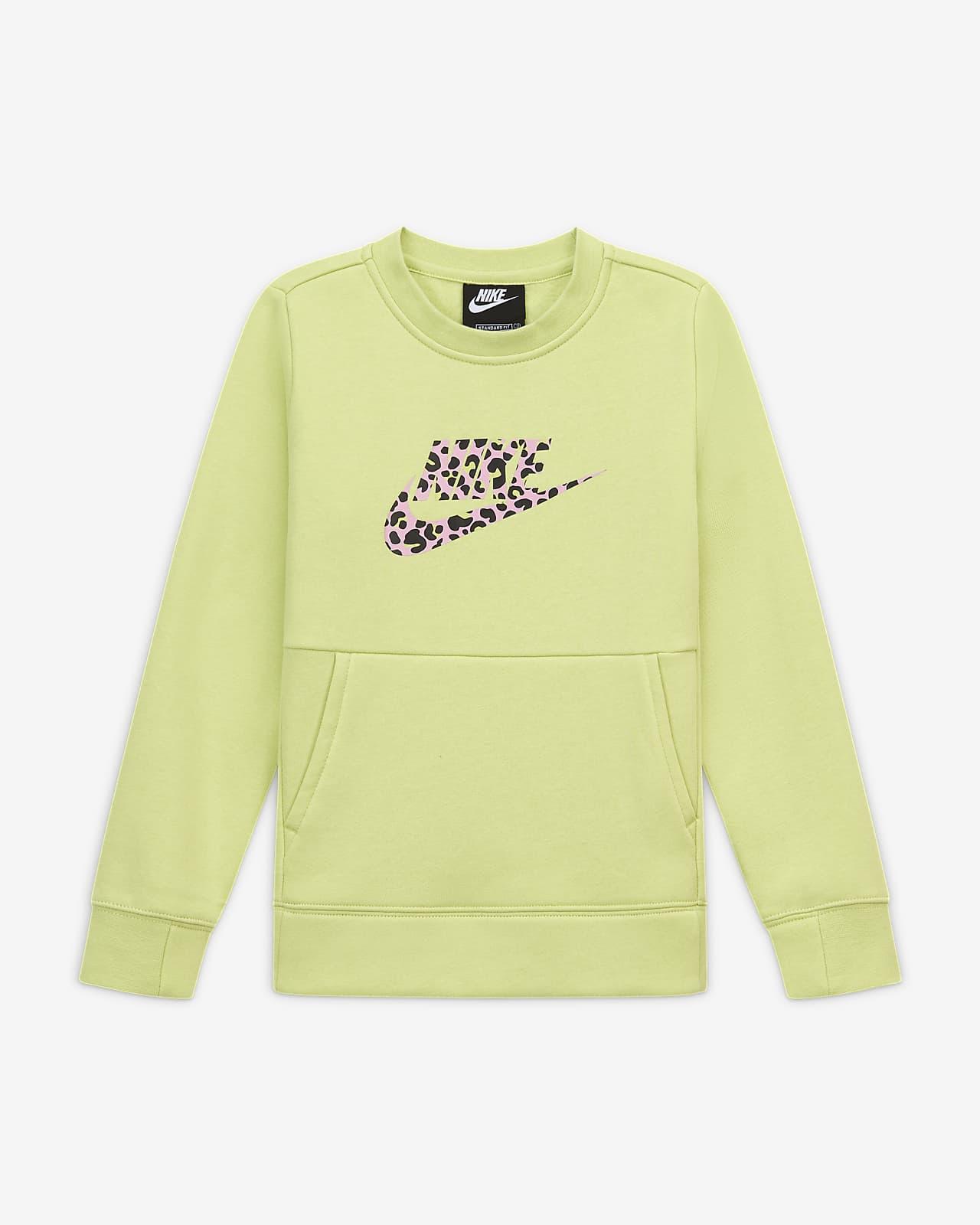Tričko s kulatým výstřihem Nike Sportswear pro větší děti (dívky)