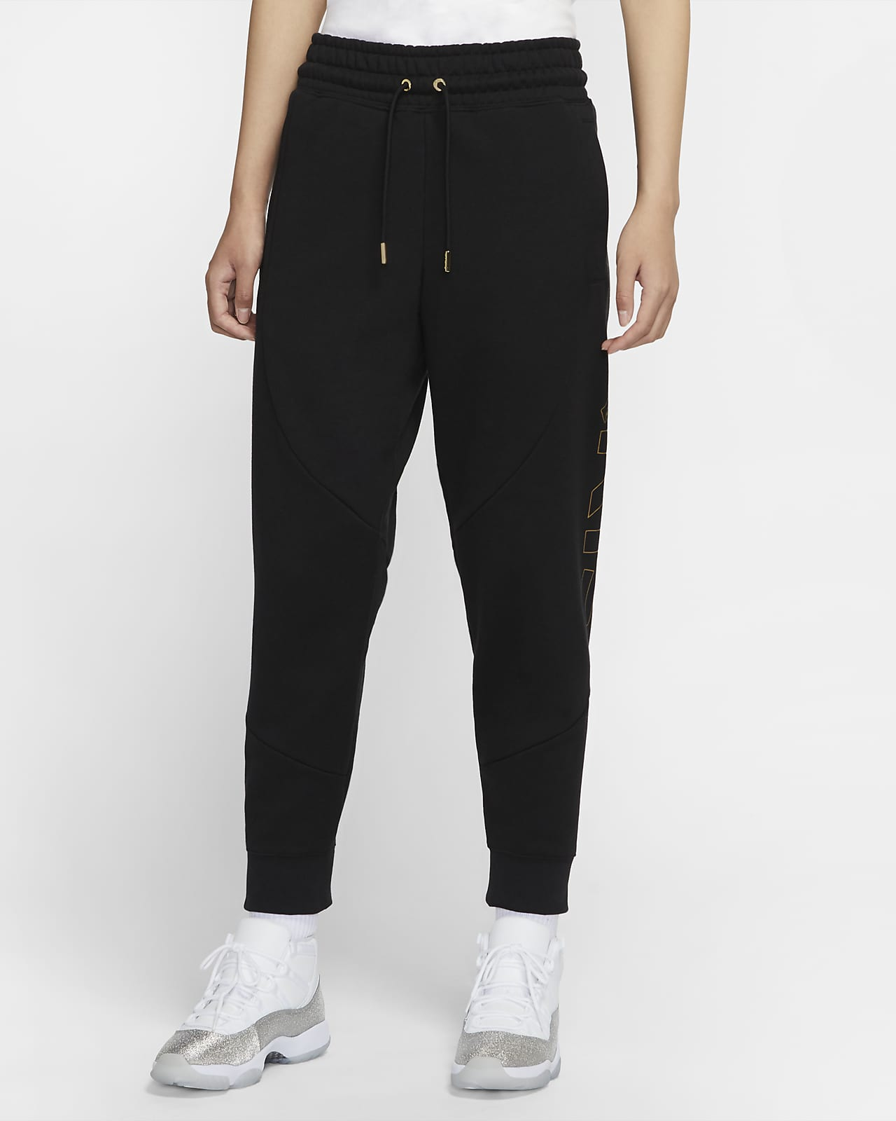 Pantalones de tejido Fleece para mujer Paris Saint-Germain