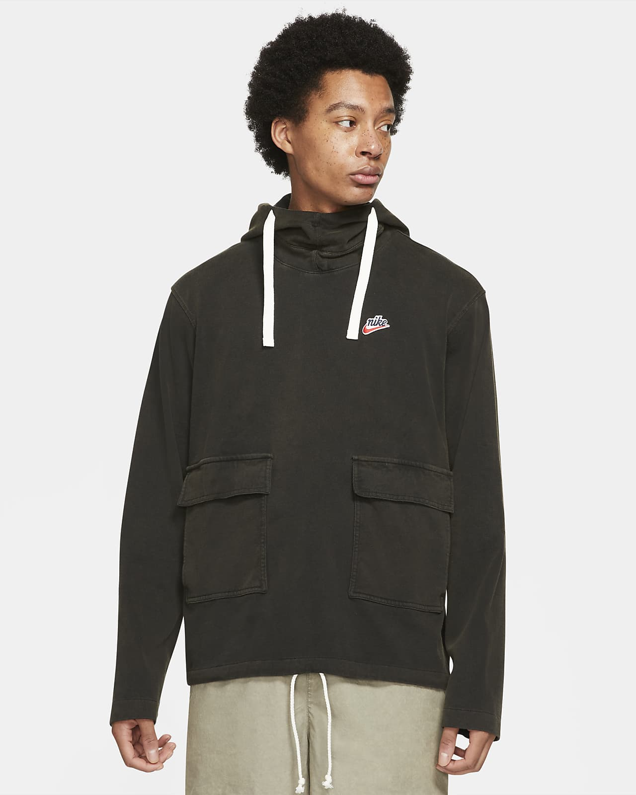 Nike Sportswear Heritage Essentials strikket hettegenser til herre