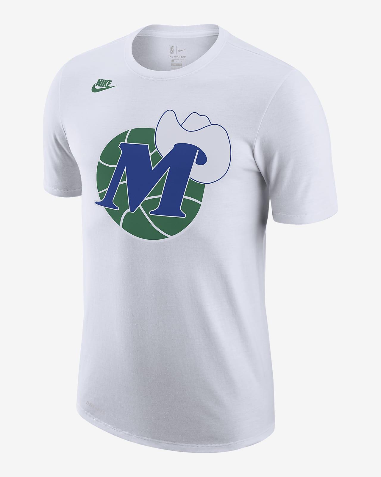 Dallas Mavericks Classic Edition Logo Men's Nike Dri-FIT NBA T-Shirt