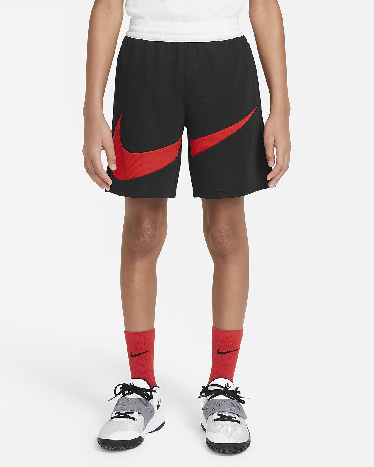 Nike Dri-FIT-basketballshorts til store børn (drenge)