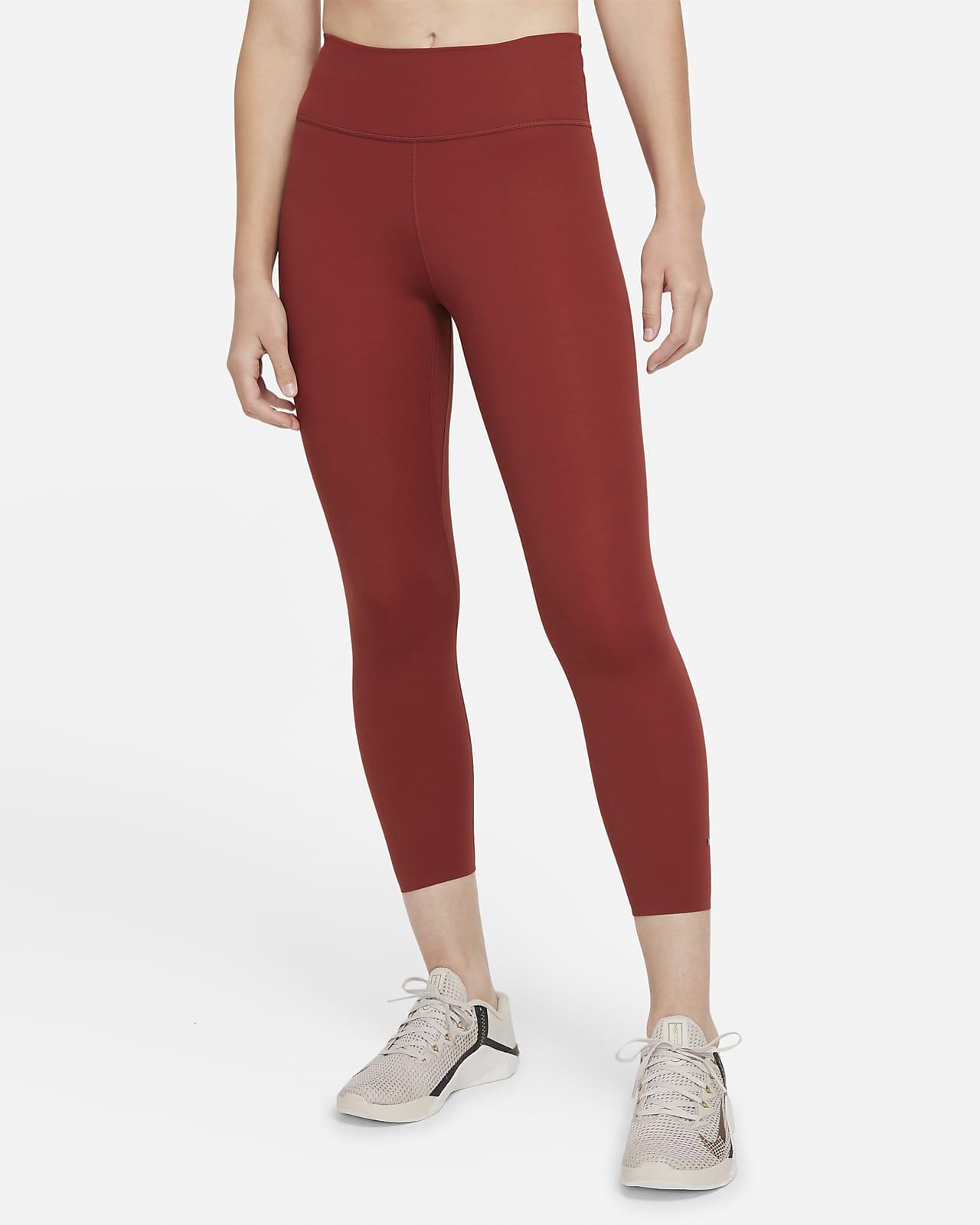 Nike One Luxe Women's Mid-Rise Crop Leggings