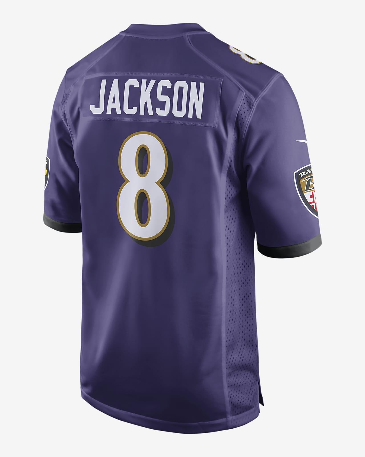NFL Baltimore Ravens (Lamar Jackson) Men's Game Football Jersey