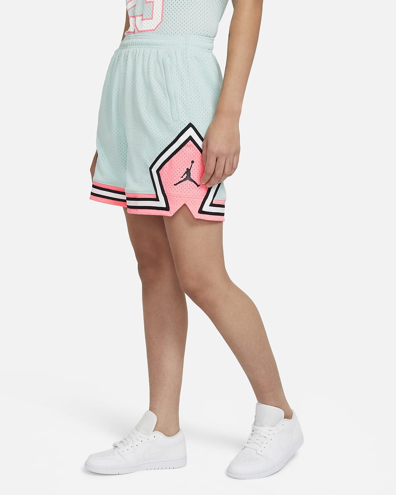 Jordan Essentials gyémántmintás női rövidnadrág