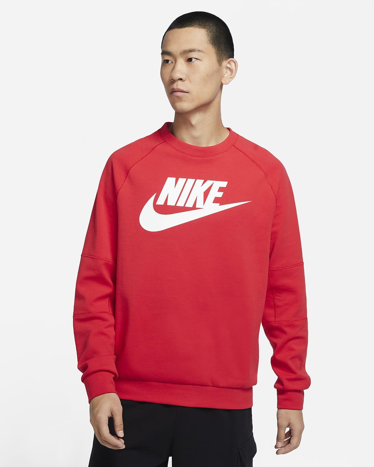 Nike Sportswear 男子针织圆领上衣