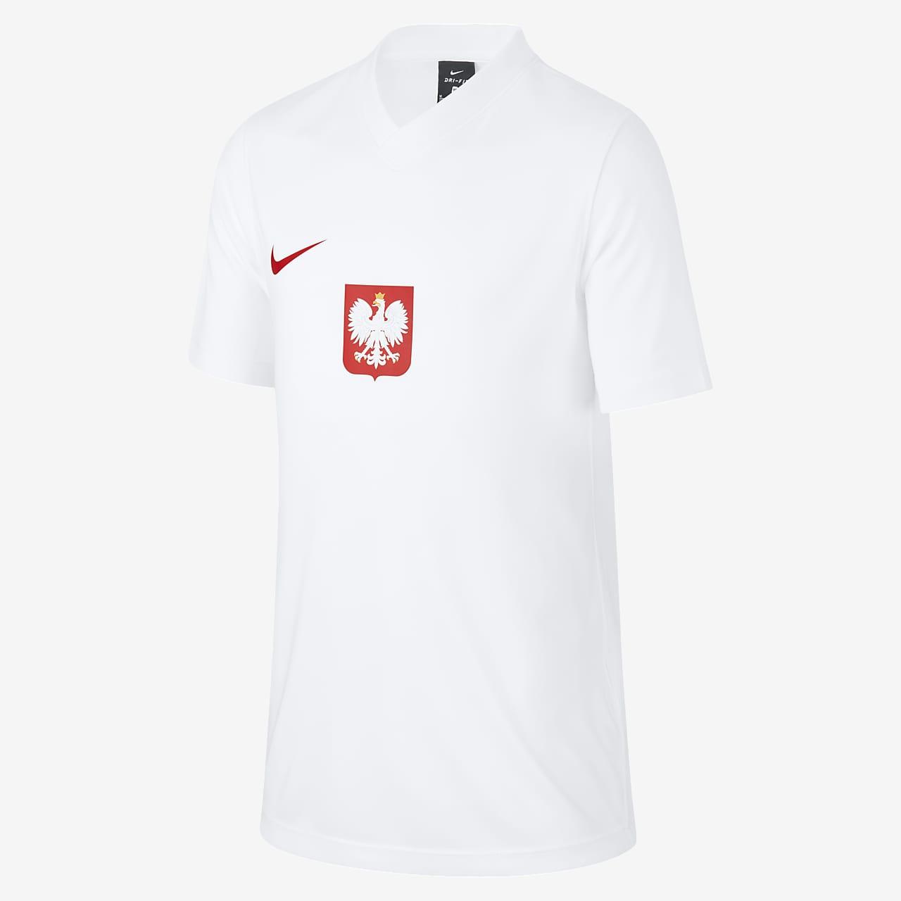 Poland Home/Away Older Kids' Football Top