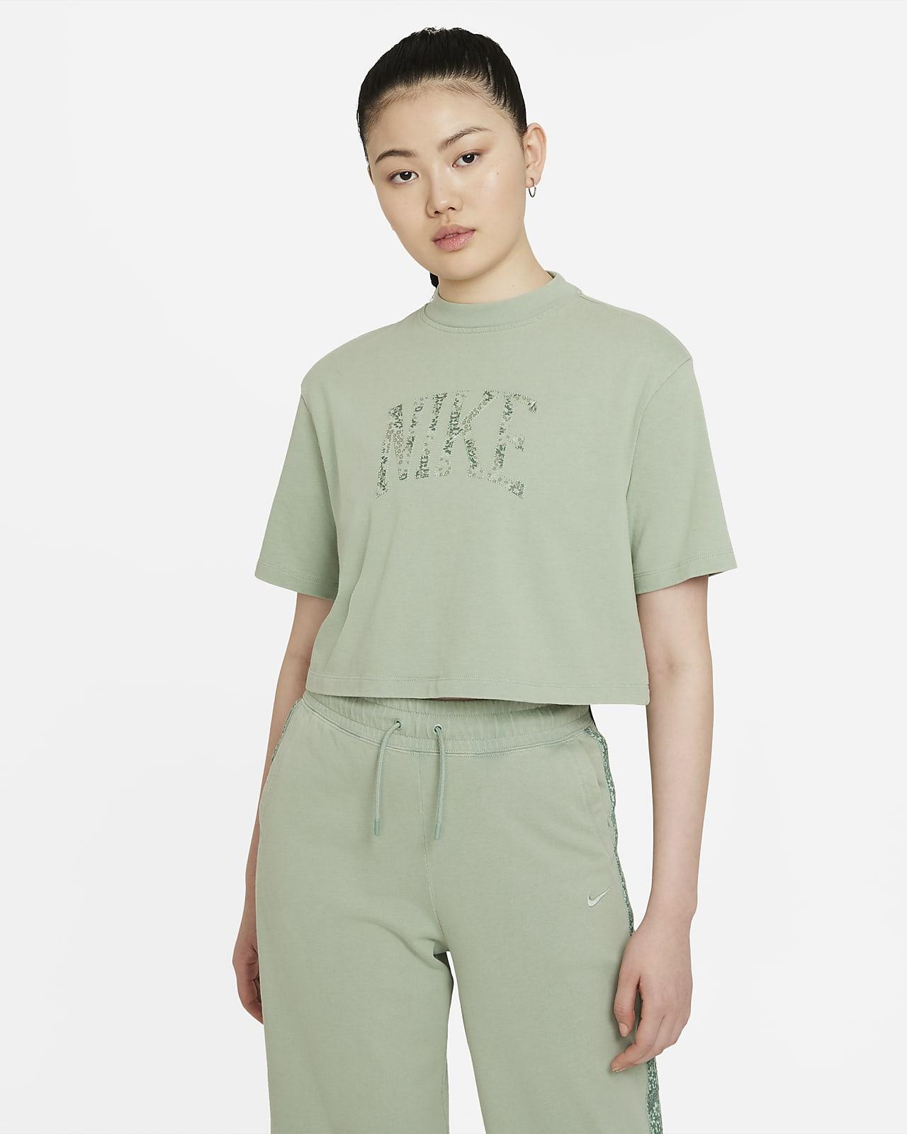 เสื้อเจอร์ซีย์แขนสั้นผู้หญิง Nike Sportswear