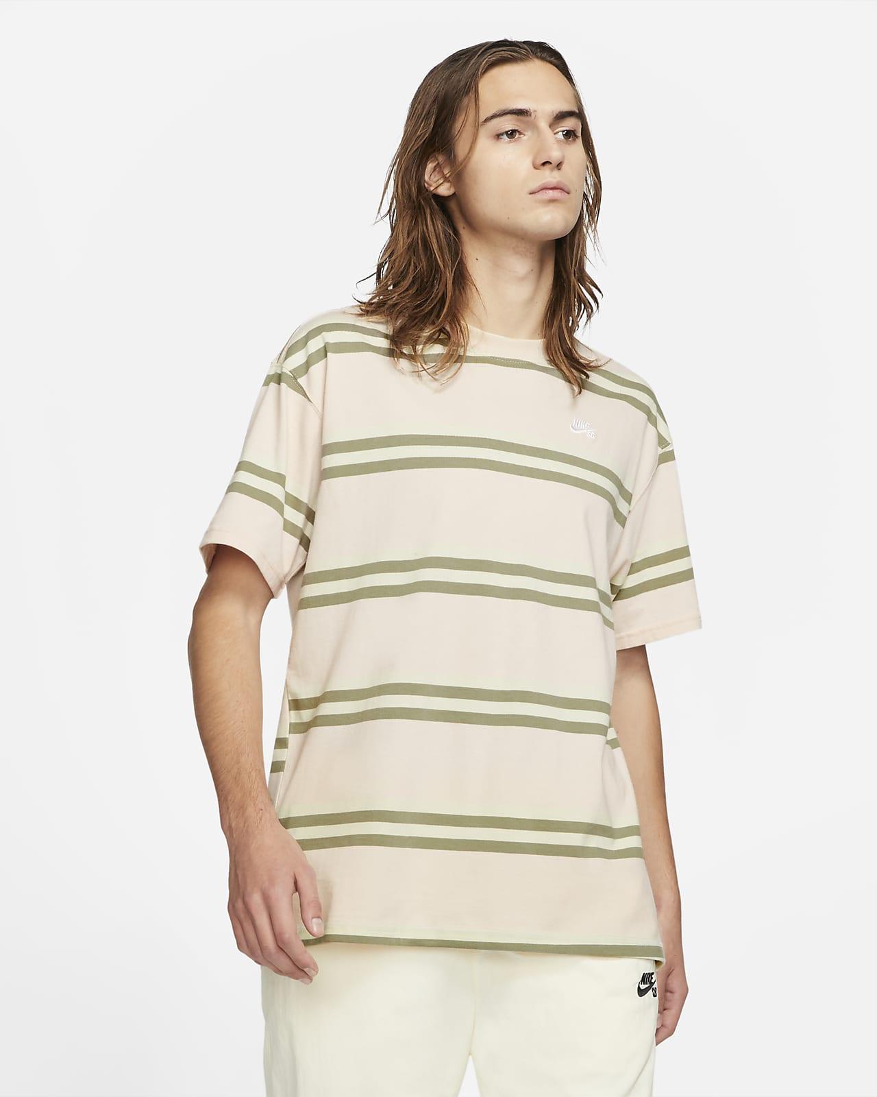Nike SB Men's Striped Skate T-Shirt