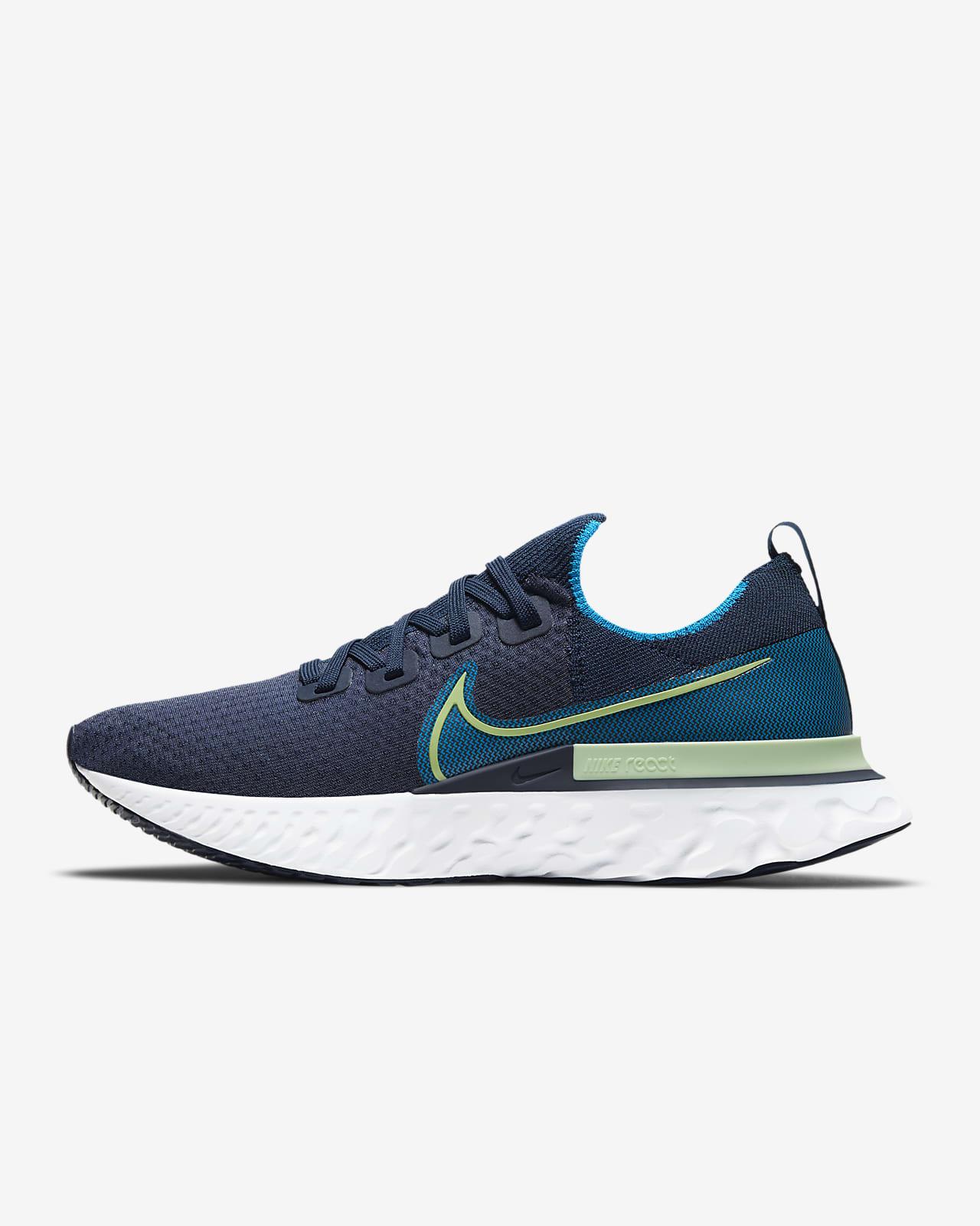 Мужские беговые кроссовки Nike React Infinity Run Flyknit