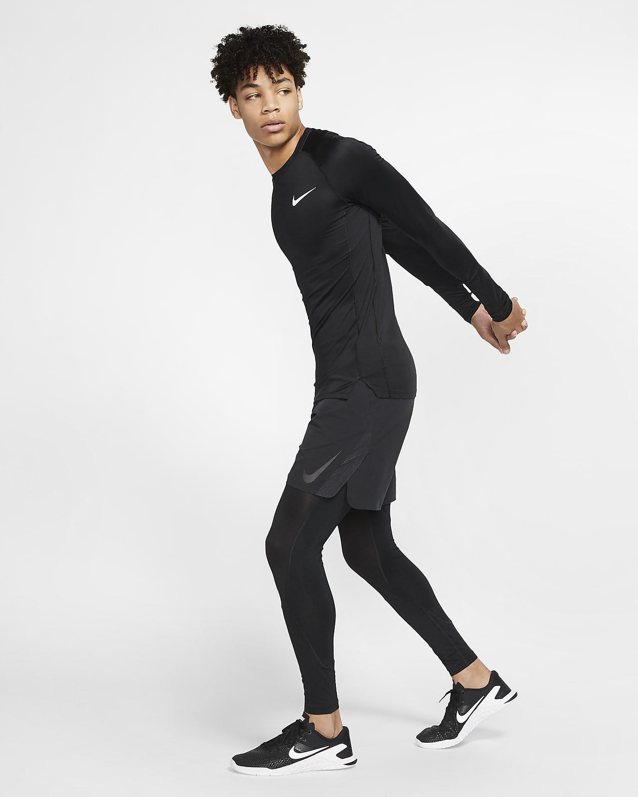 Nike Pro Men's Long-Sleeve Top. Nike SG