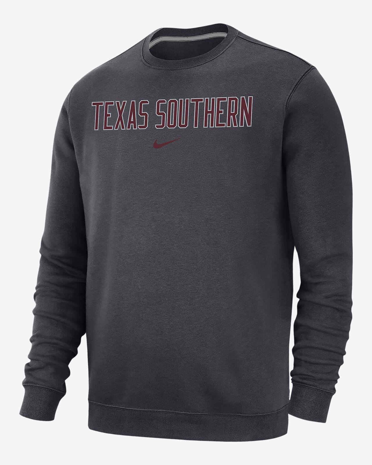 Nike College Club Fleece (Texas Southern) Crew Sweatshirt