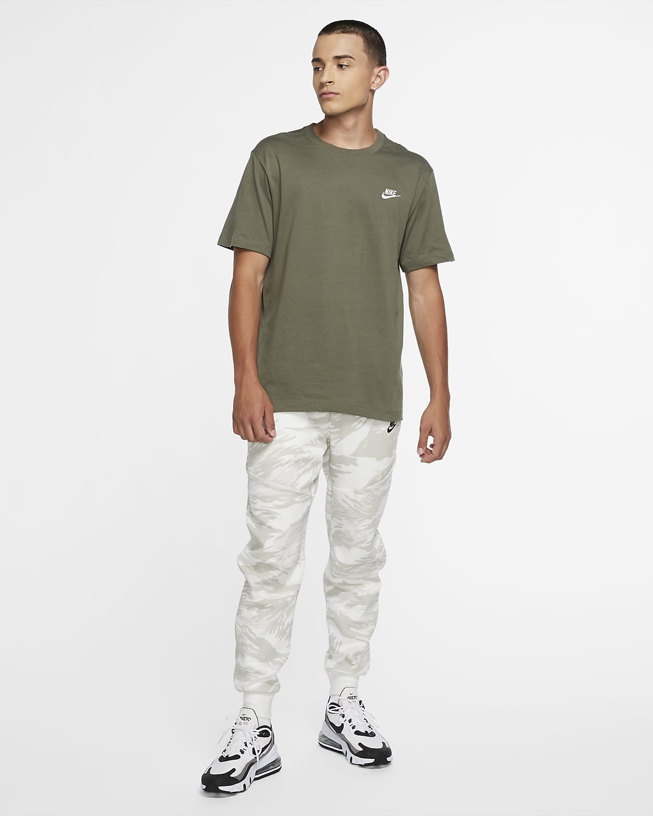 Pantalones De Entrenamiento Con Estampado De Camuflaje Para Hombre Nike Tech Fleece Nike Com