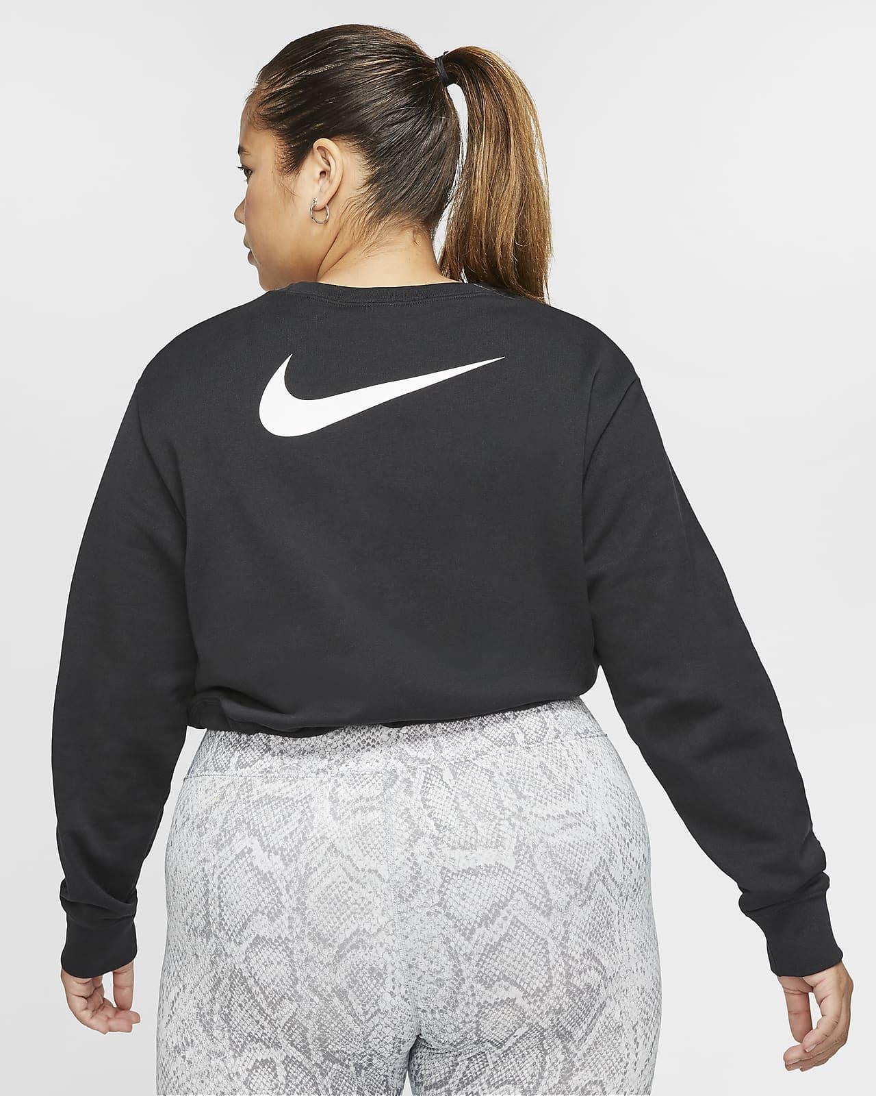 Nike Sportswear Swoosh Women's French Terry Crew. Nike NL