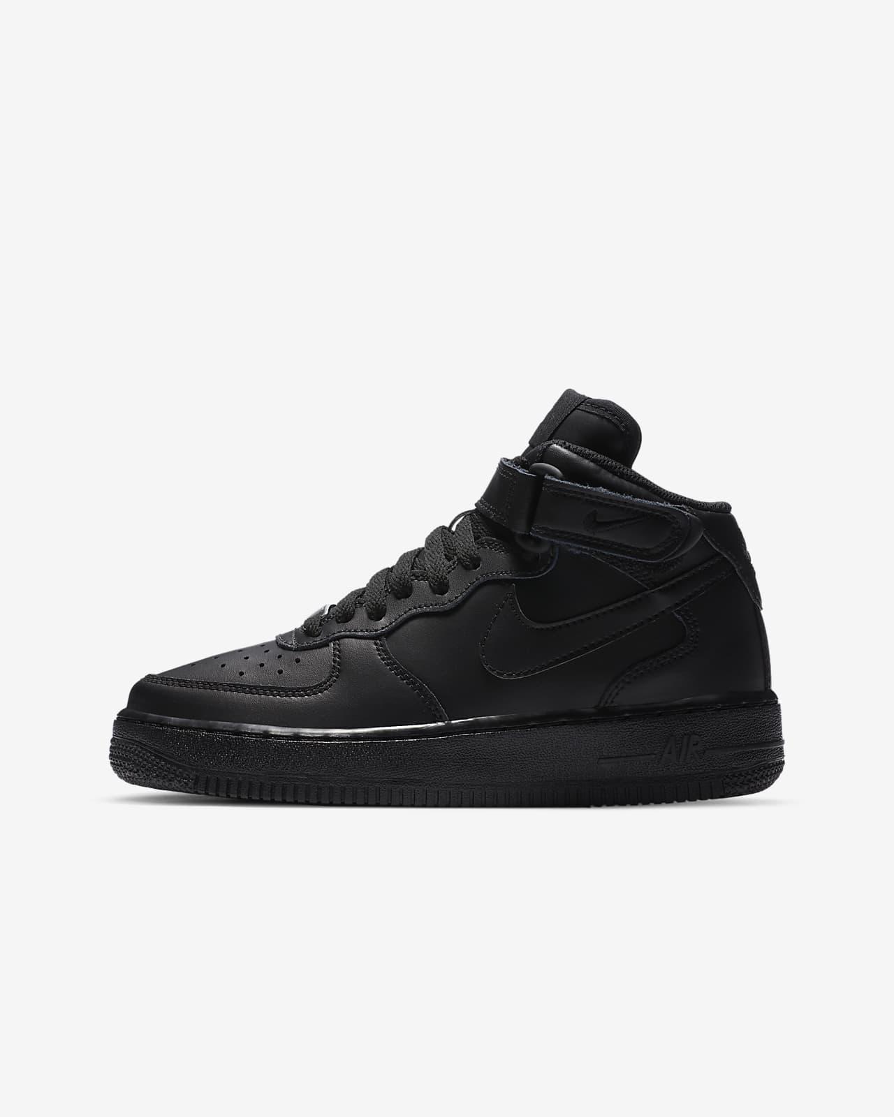 chaussure nike air force 1 blanc et noir