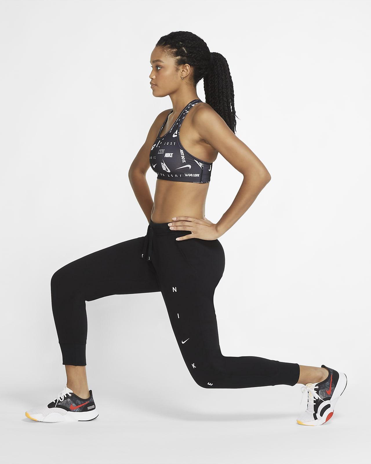 Pantalones De Entrenamiento Estampados Para Mujer Nike Dri Fit Get Fit Nike Cl