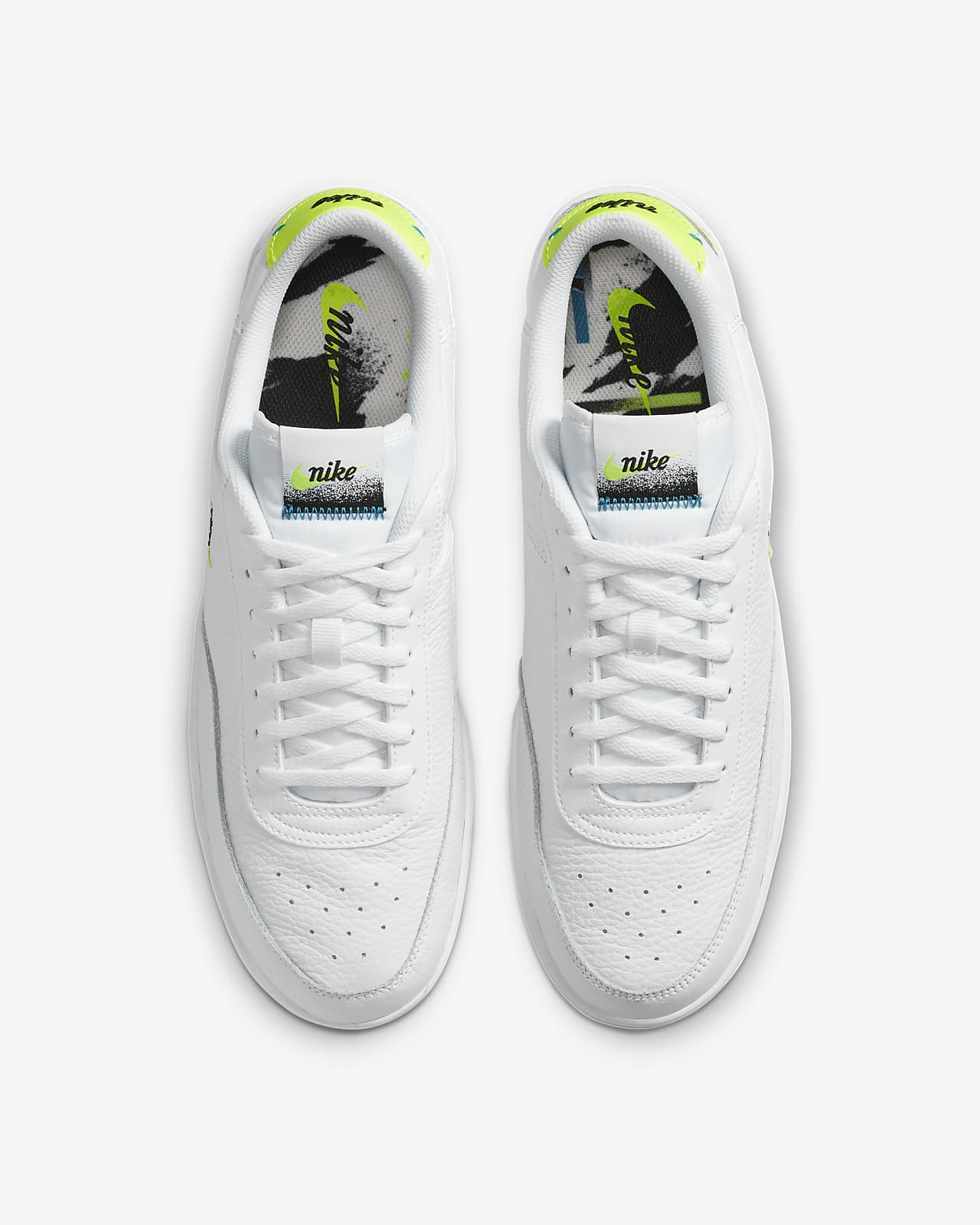 nike court force verdes
