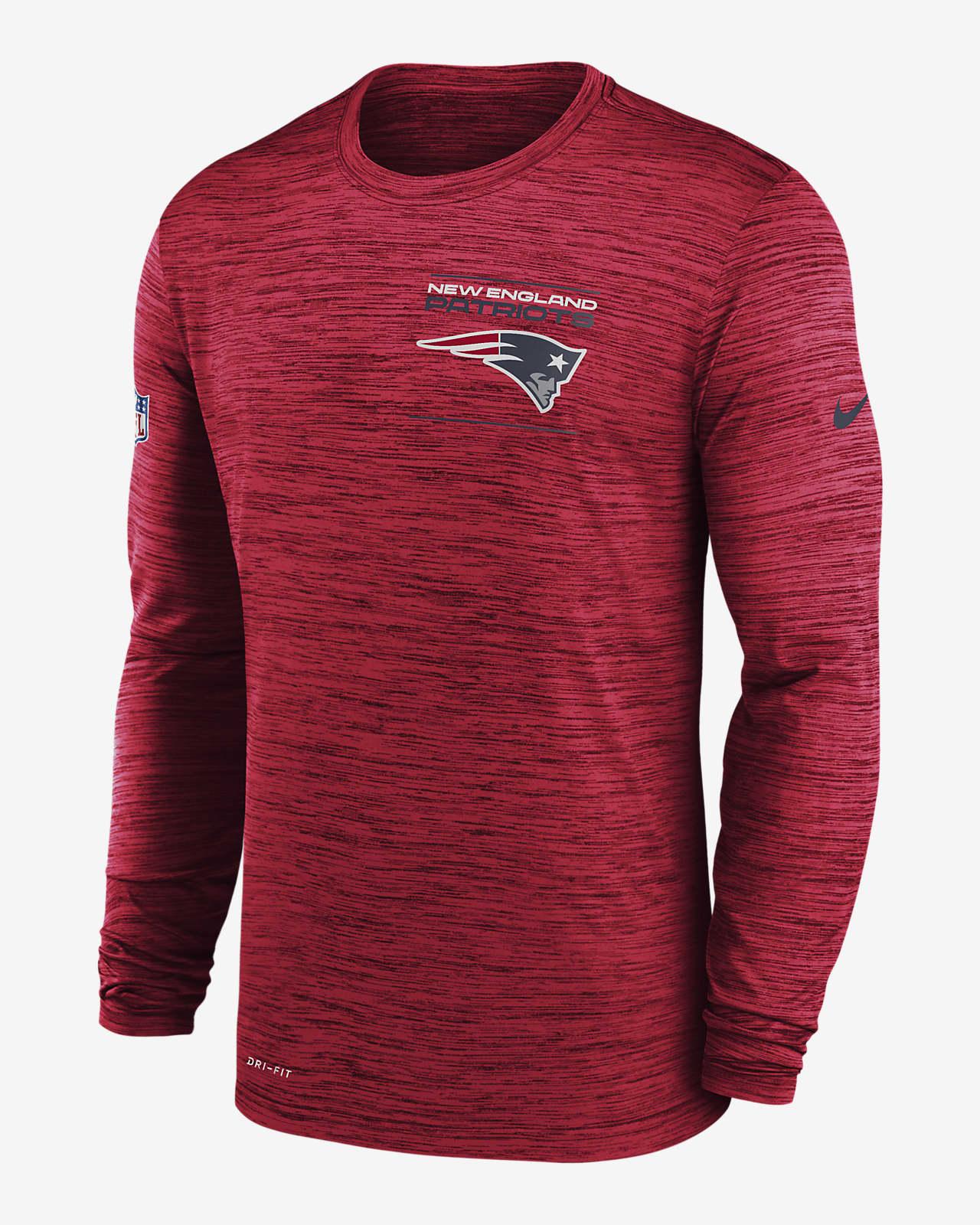 Nike Dri-FIT Sideline Velocity Legend (NFL New England Patriots) Men's Long-Sleeve T-Shirt