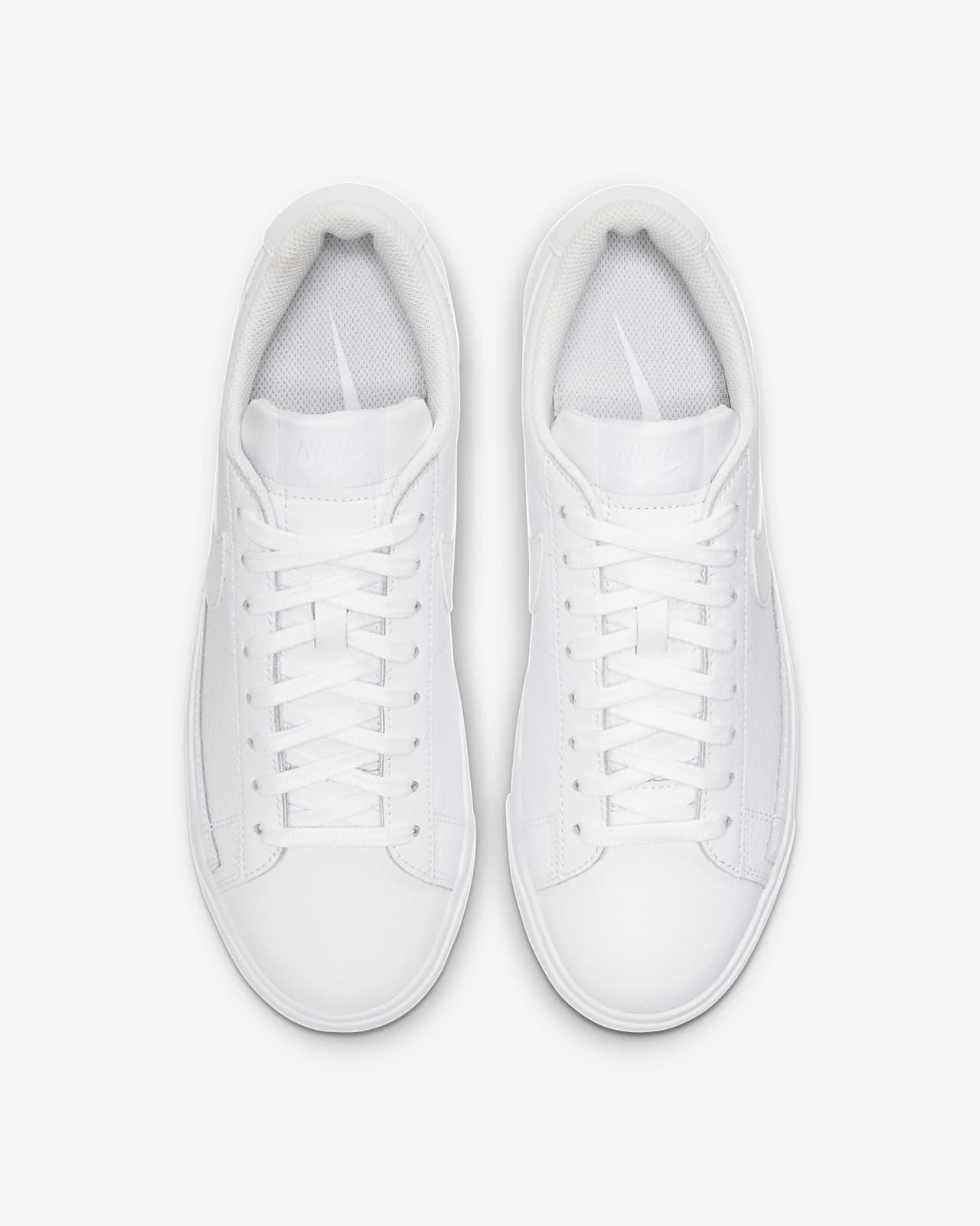 nike blazer all white