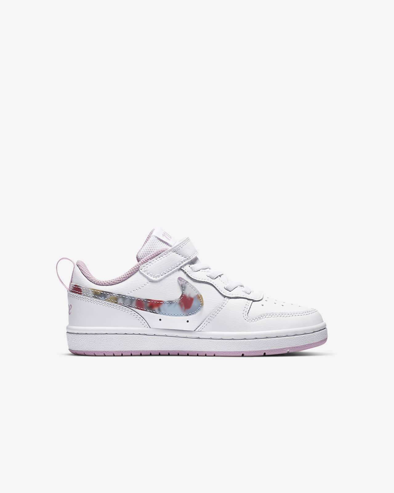 Cambiable Mansedumbre Distante  Calzado para niños talla pequeña Nike Court Borough Low 2 SE. Nike.com