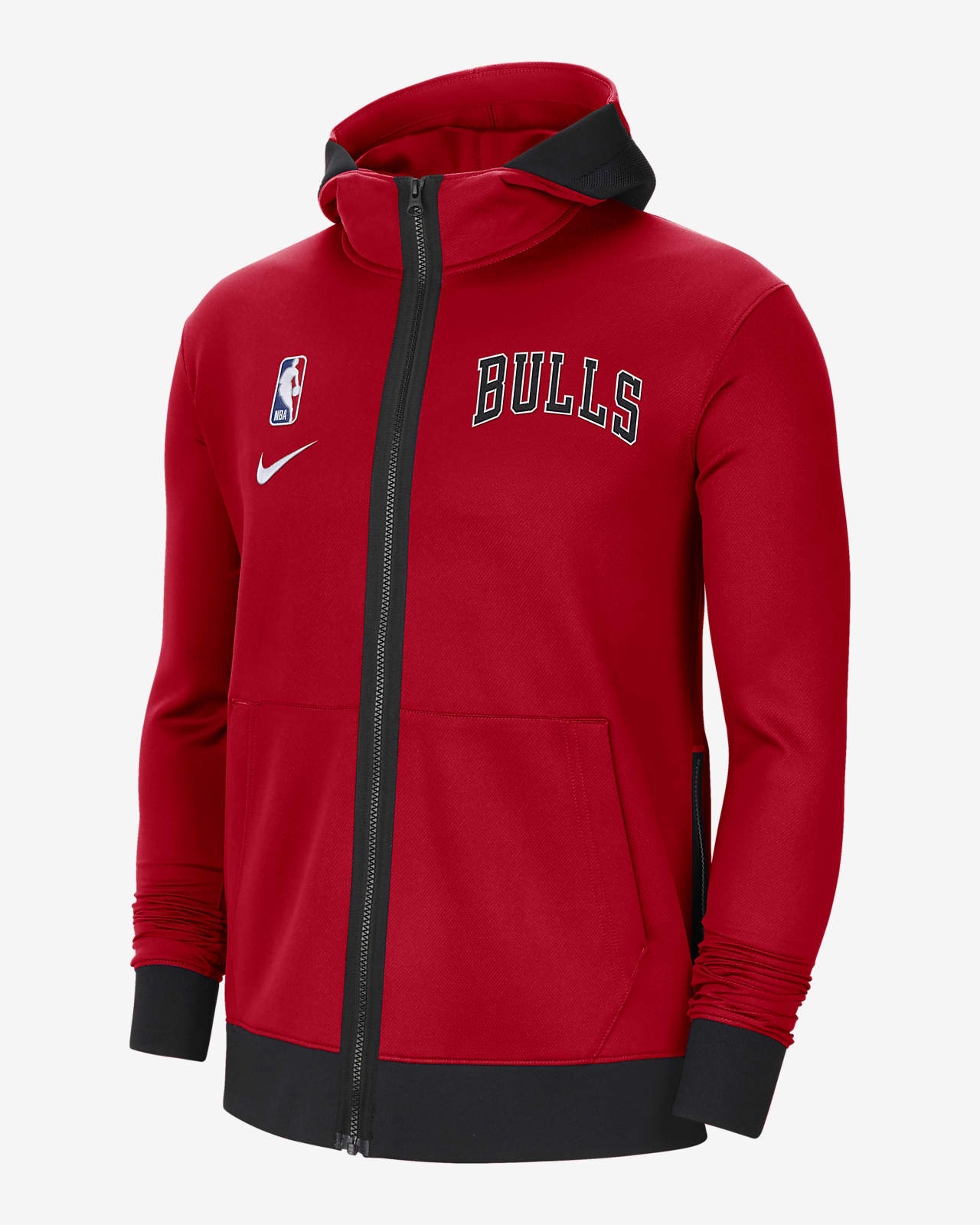 Chicago Bulls Showtime Men's Nike Therma Flex NBA Hoodie
