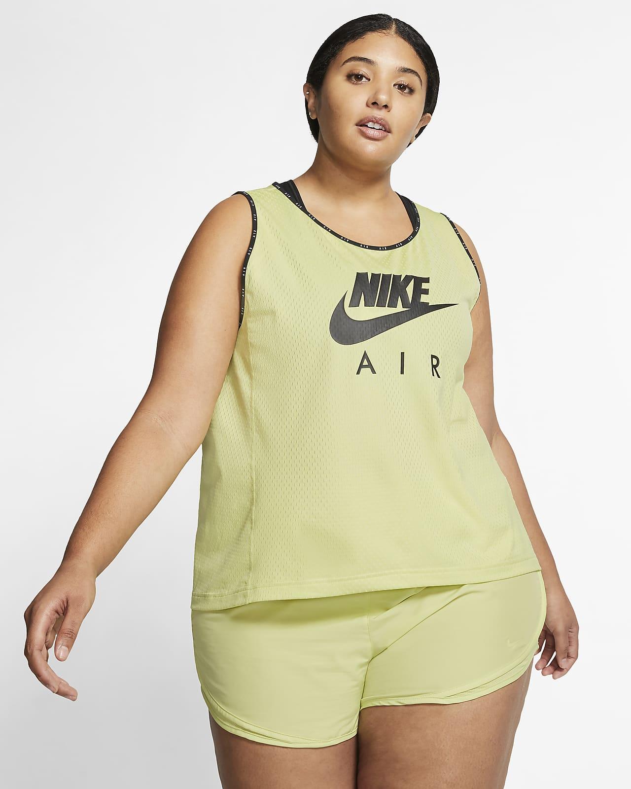 Nike Air-løbetanktop (Plus Size) til kvinder
