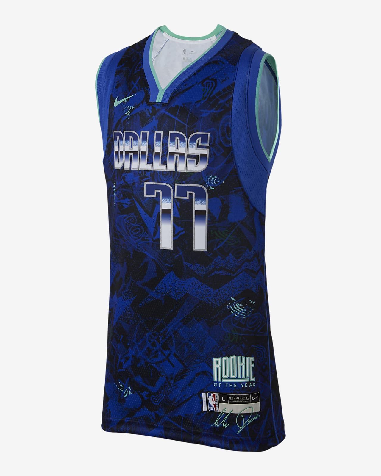 Luka Dončić Select Series Older Kids' Nike NBA Jersey