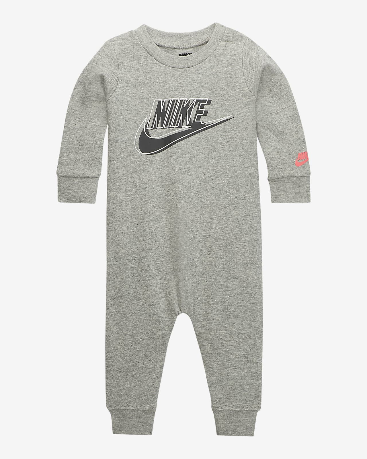 Nike Baby (0–9M) French Terry Overalls