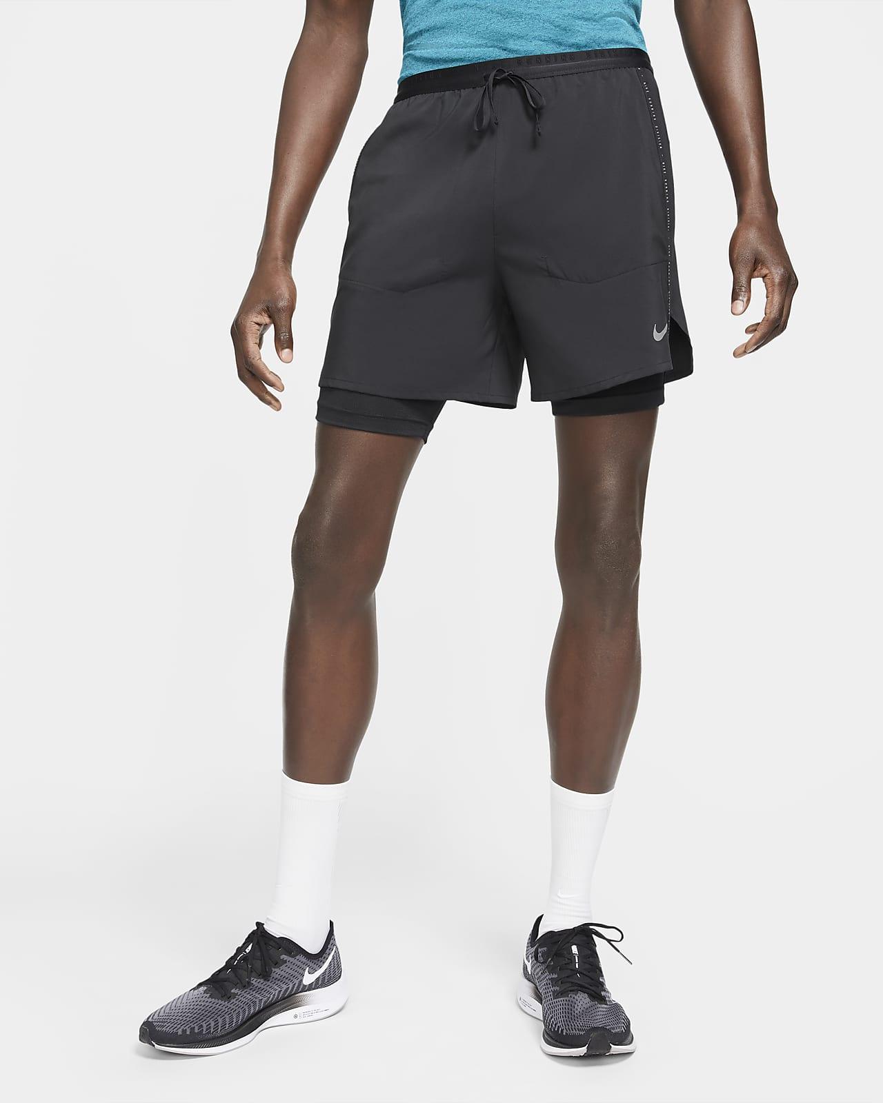 Short de running hybride Nike Flex Stride Run Division pour Homme