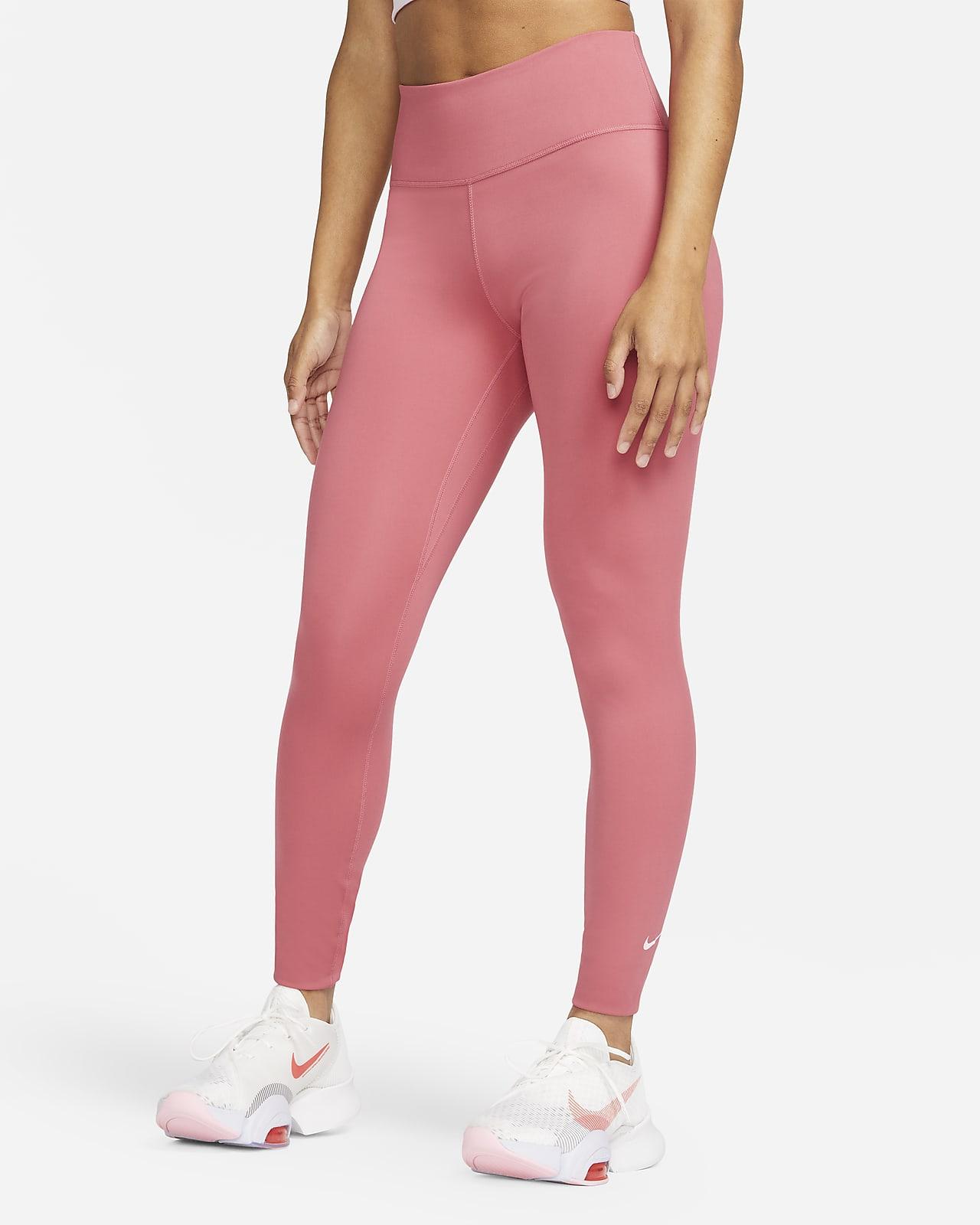 เลกกิ้งเอวปานกลางผู้หญิง Nike Dri-FIT One