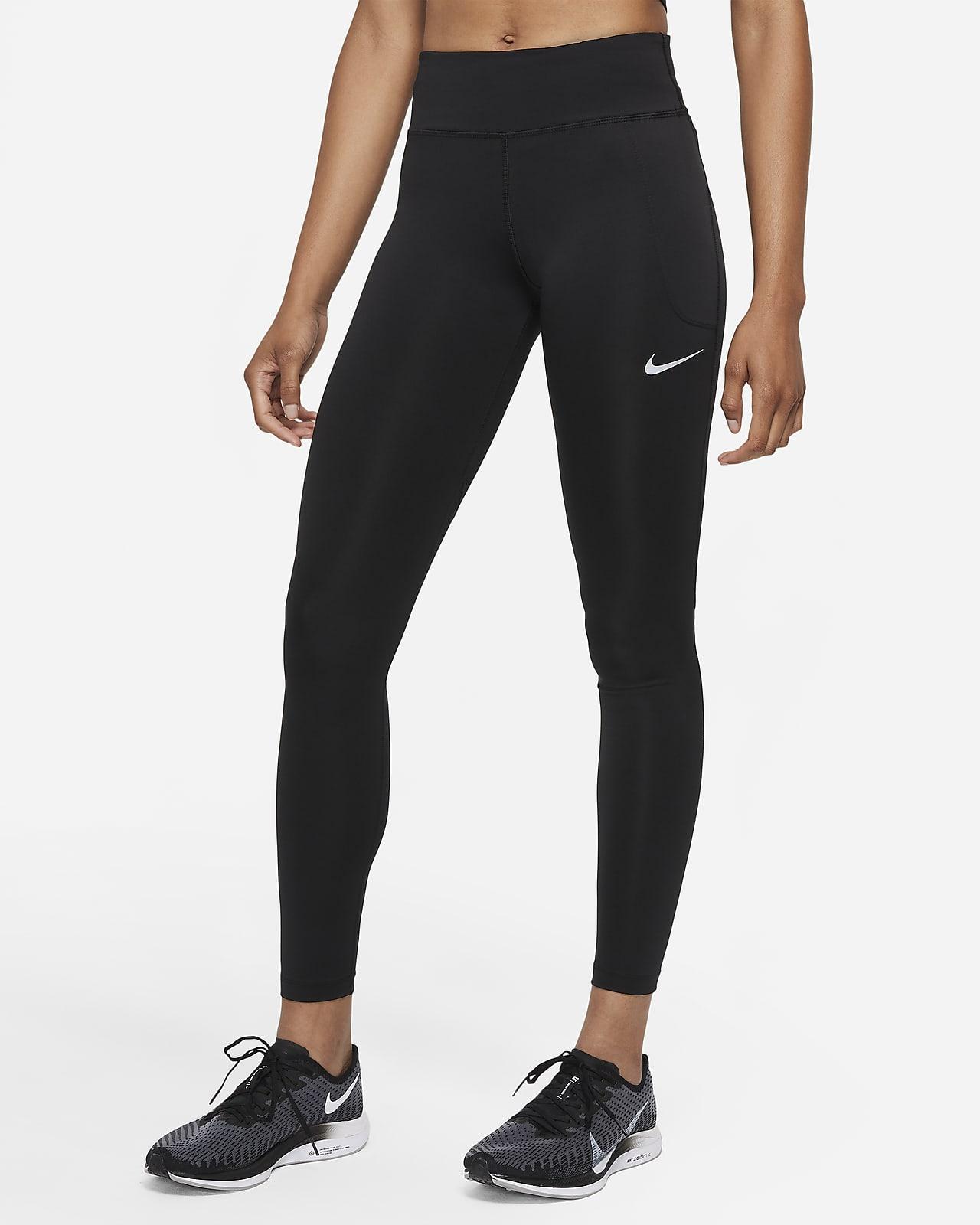 Leggings de running de tiro medio para mujer Nike Fast