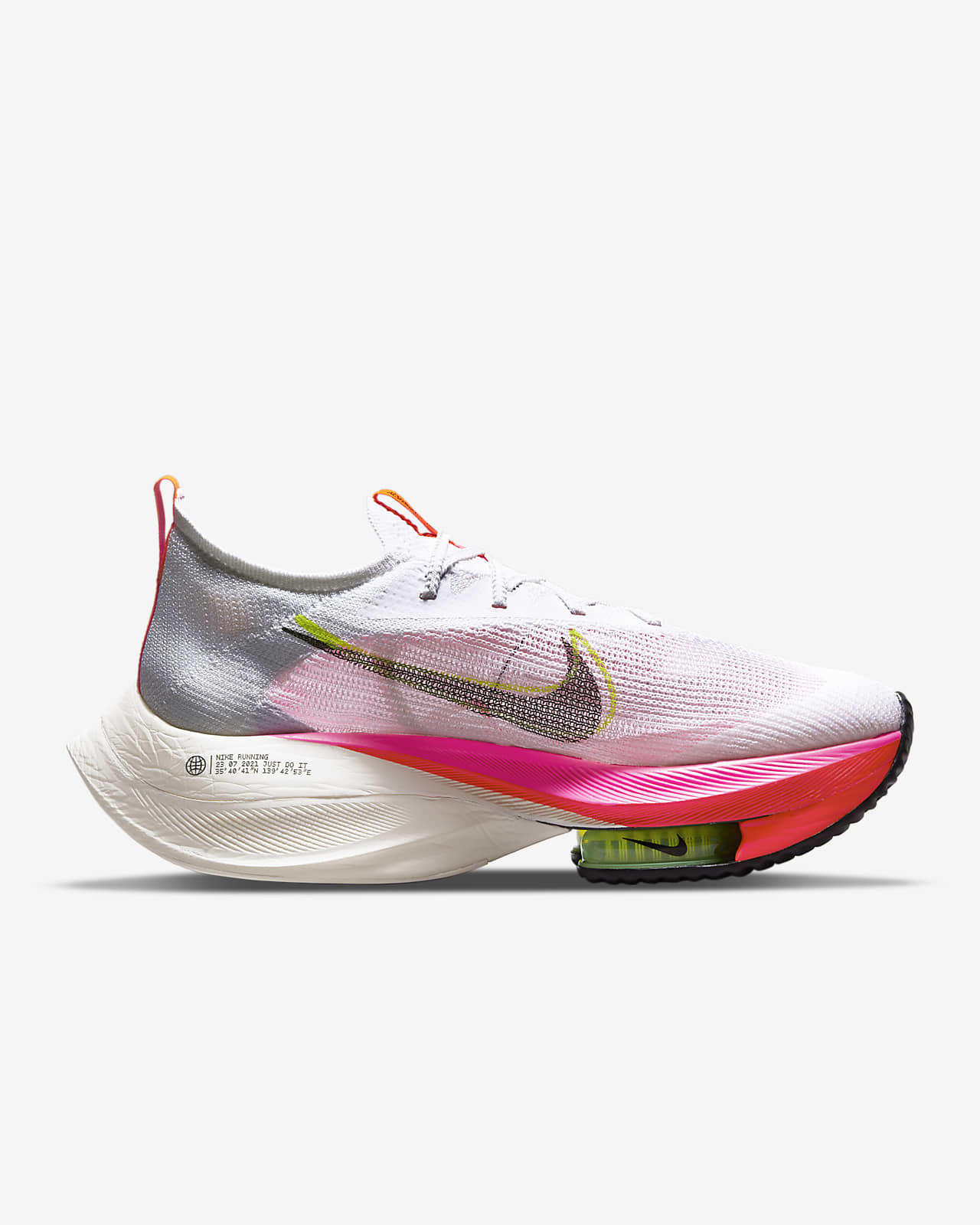 Nike Air Zoom Alphafly NEXT% Flyknit Men's Road Racing Shoe