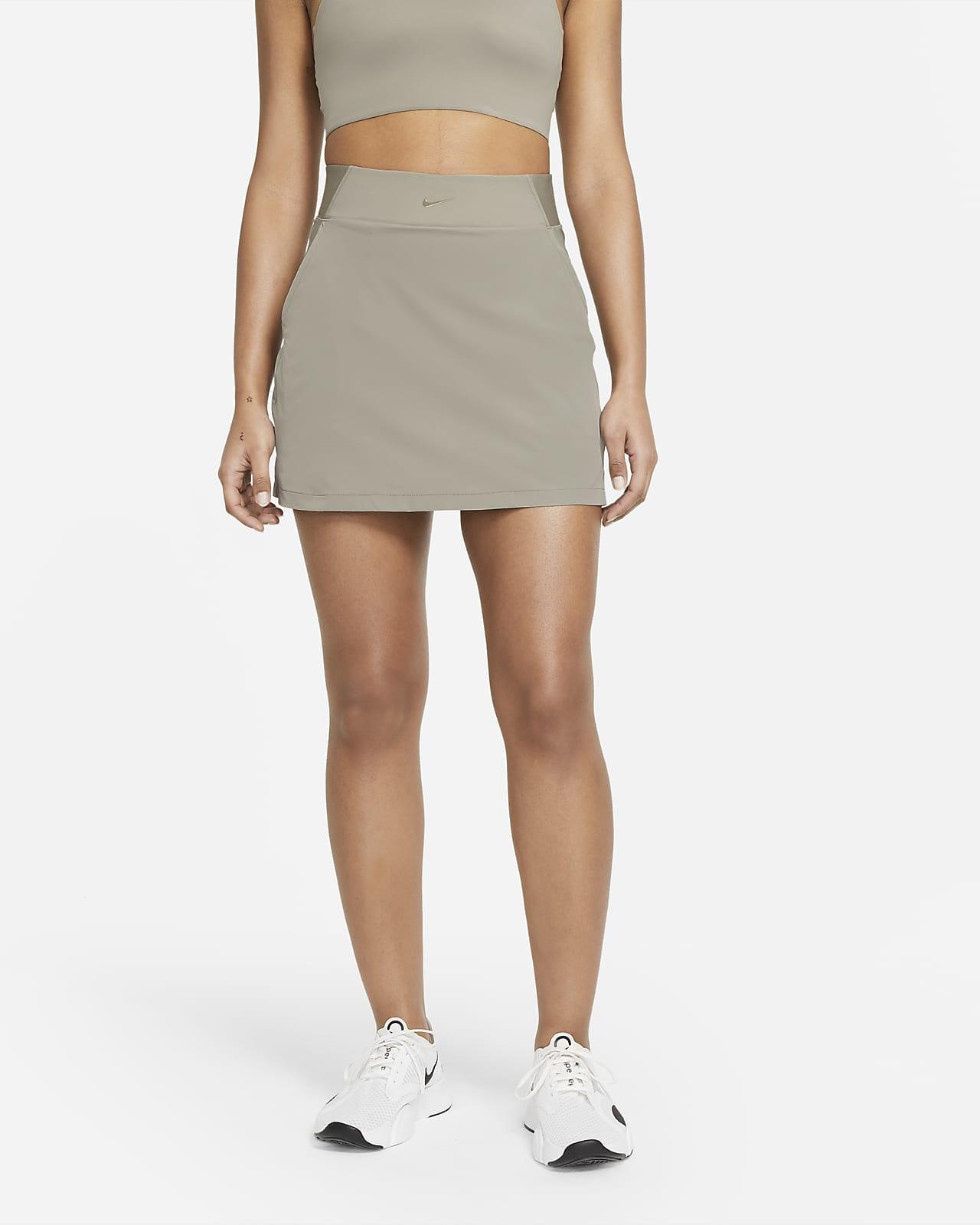 Falda pantalón de entrenamiento para mujer Nike Bliss Luxe