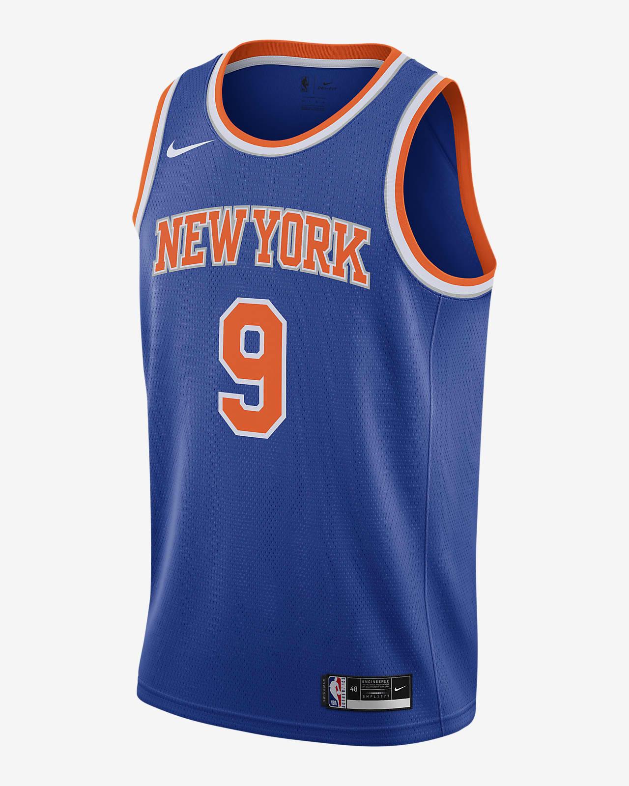 RJ Barrett Knicks Icon Edition 2020 Nike NBA Swingman Jersey
