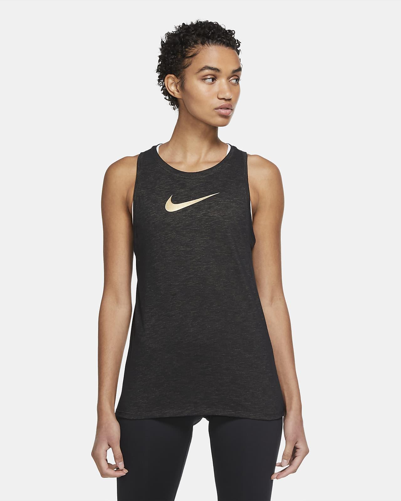 Camiseta de tirantes de entrenamiento para mujer Nike Dri-FIT Icon Clash