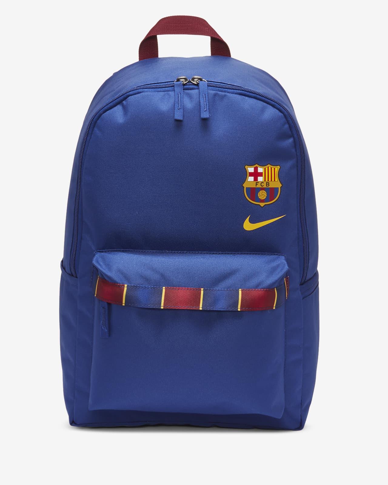 Misterioso personal Dinkarville  Mochila de fútbol FC Barcelona Stadium. Nike MX