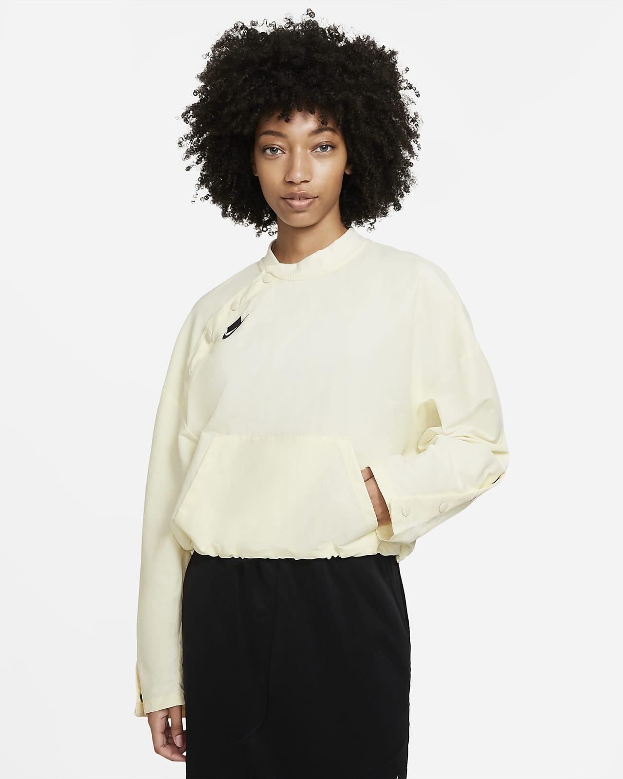Bomber sin cierre de tejido Woven para mujer Nike Sportswear NSW