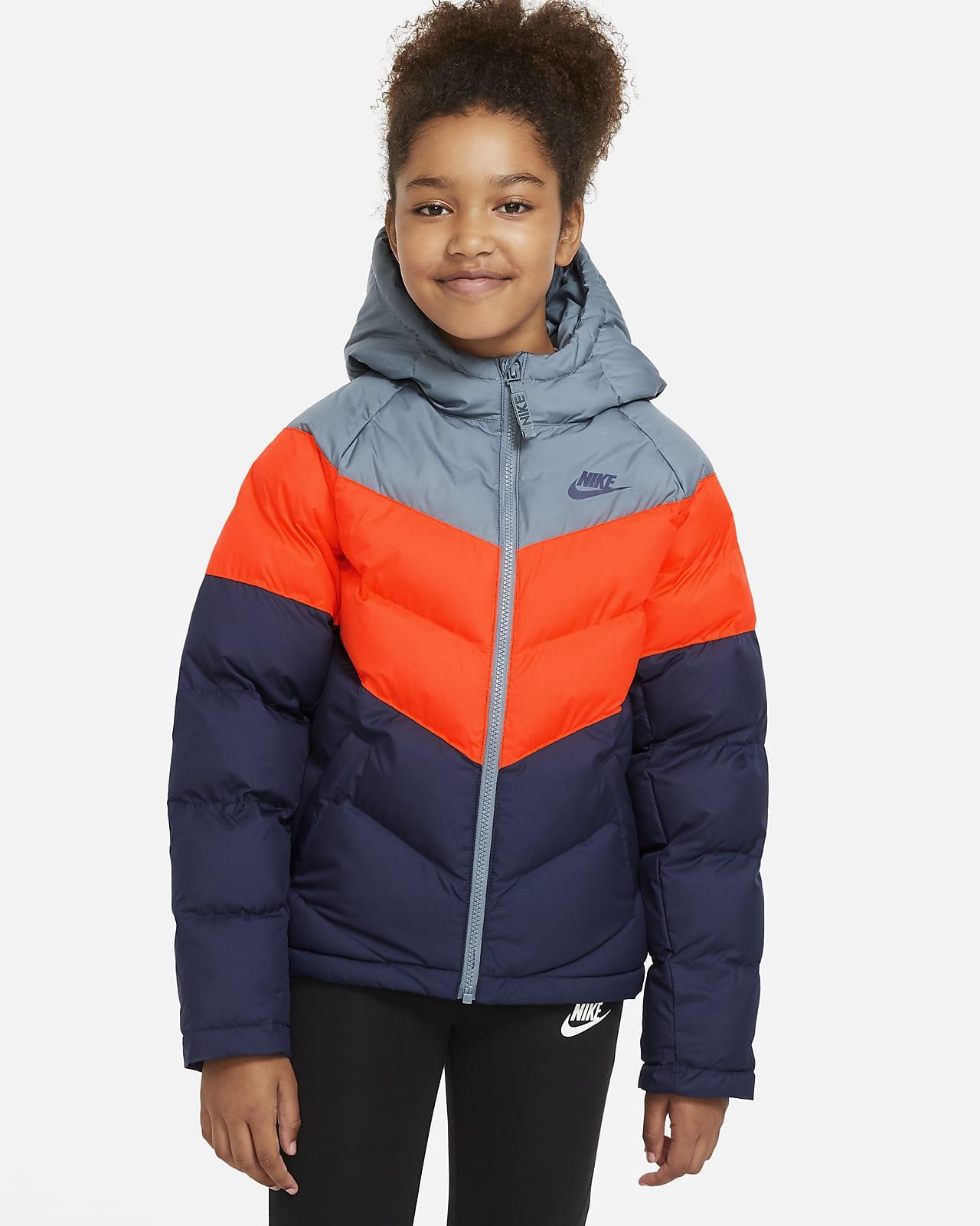 Nike Sportswear Older Kids' Synthetic-Fill Jacket