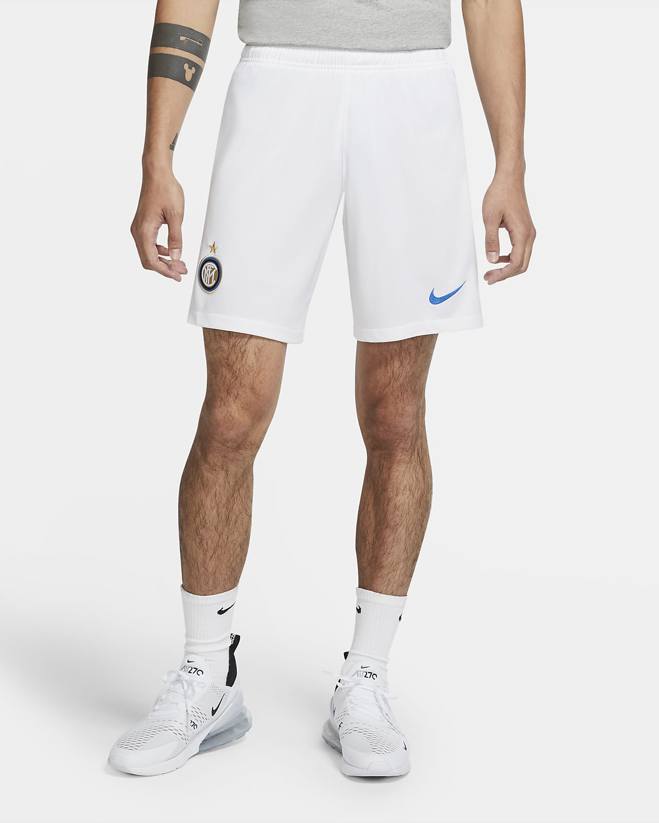 Inter Milan 2020/21 Stadium Home/Away Men's Football Shorts